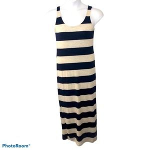 Anthropologie Thyme & Honey Striped Maxi Dress